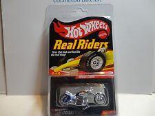 Hot Wheels Redline Club Real Riders Series Blue Blast Lane Motorcycle