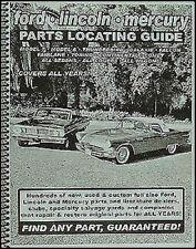 Find cualquier Ford pieza con este libro garantizado Nationwide directorio de