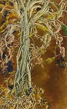 Originale künstlerische Malerein der Zeit Acryl