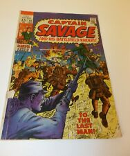 Captain Savage and His Battlefield Raiders 10 January 1969 Comic