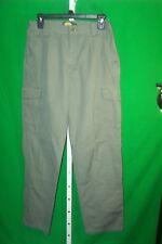 Cabelas Women's Pants Green Six Pocket Cargo Pants Size 8R