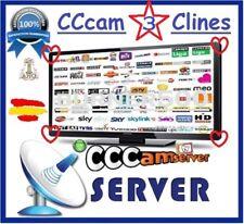 CCcam 3 CLINES MUY ESTABLES - ¡Más de 800 Votos positivos!