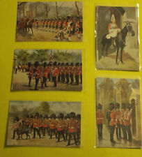 Coldstream Guards Five Early 1930s Buckingham Palace TUCKS Postcards! SEE!