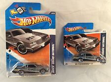 Hot Wheels Buick Grand National 2011 - Short Card & Long Card Variants