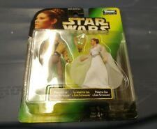 Princess Leia and Luke Skywalker from the Princess Leia collection, 1997, MOC