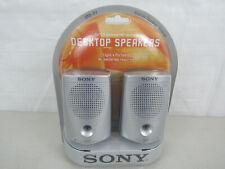 Sony SRS-P7 Desktop Speakers for CD Walkman MD Walkman Light & Portable-New