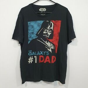Star Wars The Galaxy's #1 DAD Men's T Shirt Large