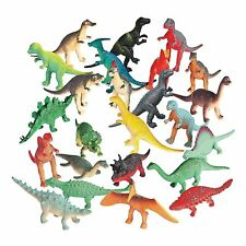 """72 - Assorted Color Vinyl Dinosaurs 2 1/2"""" Party Favors Cake Topper Dino Parties"""