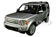 LAND ROVER DISCOVERY 4 SILVER 1/24-1/27 DIECAST MODEL CAR BY WELLY 24008
