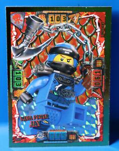 Lego® Ninjago Serie 4 Sammelkarte  Limitierte Karte Le6  Mega Power Jay