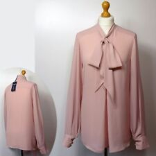 Long Sleeve Formal Tops & Shirts for Women with Bows
