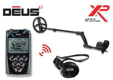XP DEUS 22 RC WS4 Komplett-Set Metalldetektor inklu 9 in1 Militär Multi Schaufel