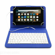 Carcasas, cubiertas y fundas azul Universal de piel para tablets e eBooks
