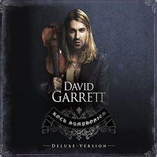 "DAVID GARRETT ""ROCK SYMPHONIES"" 2 CD DELUXE EDT NEU"