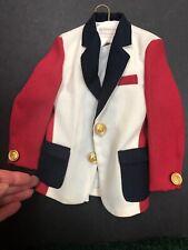 """SALESMAN SAMPLE Schoeneman 1960's """"Rat Pack"""" men's sport coat or Male Doll coat"""