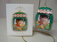 Hallmark Ornament 2008 I LOVE GRANDPA NEW Photo Holder Candy Sweets Boy