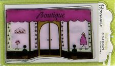 Papermania - Clear Stamps - Retail Therapy / Boutique Background - PMA9073004