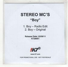 (GI656) Stereo MCs, Boy - 2011 DJ CD