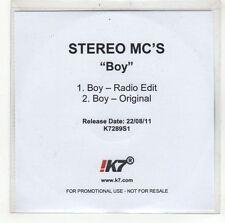(GI656) Stereo MCs, Boy - 2011 DJ CD