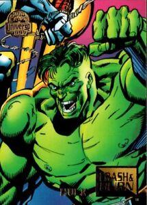 1994 Fleer MARVEL UNIVERSE Crash & Burn #78 Hulk