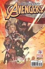 Uncanny Avengers #13 Captain America 1:50 Adam Hughes Variant Marvel 2016 NM