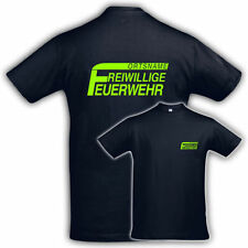 Individualisierte Herren-T-Shirts mit Rundhals und Feuerwehr