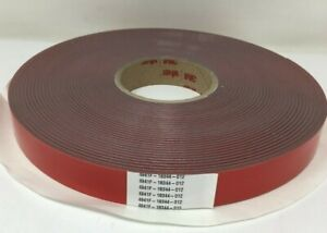 3M VHB Double Sided Tape 4941F 1in x 36yd (1Roll)