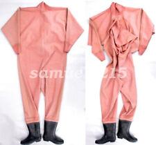 latex new Rubber Gummi Ganzanzug Bodysuit Cool Catsuit Kostüm Pink Size XXS-XXL