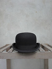 Black Bowler Hat by Christys' of London – 100% Fur Felt. Traditional British