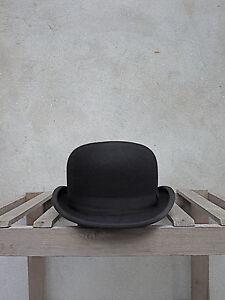 Black Bowler Hat by Christys' of London – 100% Fur Felt. Traditional British