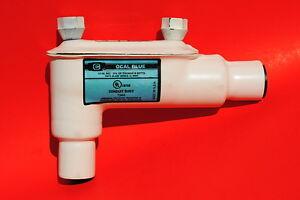 "Thomas & Betts Ocal 1/2"" White PVC Coated LB Conduit Body Form 7 New"
