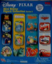 TOMY DISNEY MINI BLISTER FIGURE COLLECTION SERIES 2 SET OF 8 FIGURES