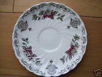 Vintage Myotts Bouquet Staffordshire saucer earthenware china  England