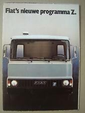 FIAT  New Z program  Prospekt/brochure  1979.