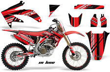 Honda CRF 450R Graphic Kit AMR Racing # Plates Decal Sticker Part 05-08 ILR