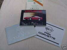 Corvette Owner Manuals 1981 - 1997