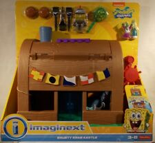 Imaginext Transforming Krusty Krab Kastle With Spongebob & Plankton (MIB)