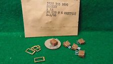 Lot of 5 Vintage 4 Pin Subminiature Tube Sockets for 5676 PRC-8 -9-10 NOS