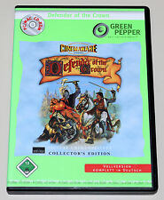 DEFENDER OF THE CROWN - COLLECTORS EDITION 2002 - CINEMAWARE PC MAC CD ROM