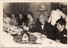 FDR Pres Franklin & Eleanor Roosevelt Thanksgiving Warm Springs GA 1938 Photo
