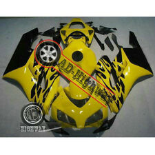 Yellow Fairing Bodywork Kit Fit For Honda CBR 1000 RR 04-05 INJECTION Plastic Z