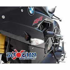 BMW 2015-2017 S1000RR Shogun Racing Frame Sliders No Cut Version Black - No Cut