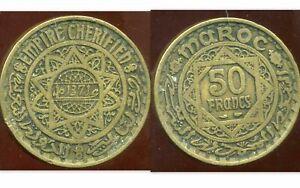 MAROC MAROC  50 francs  1371 - 1952  ( Etat )