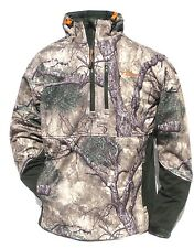Cabela's Men's Mountain Mimicry 1/4 Zip Wind Waterproof Hooded Hunting Jacket