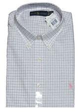 $125 Polo Ralph Lauren Mens Pony Logo Classic Button Down LS Sport Dress Shirt