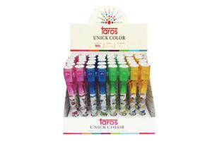 taros Geheimstift Kugelschreiber mit unsichtbarer Tinte und UV-Licht, Farbe:blau
