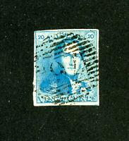 Belgium Stamps # 2 VF Used Scott Value $57.50