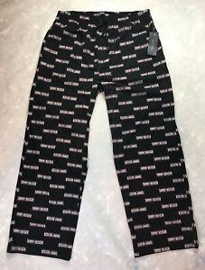 Tommy Hilfiger Sleepwear Pajama Lounge Sleep Pant Logo Allover Men's Sz XL NEW.