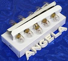 Ten #47 Pinball Light Bulb Lamps 6.3V For Old Guitar Amps, Pinball Machines