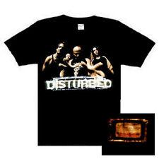 Disturbed Band Photo music punk rock  t-shirt  XXL NEW